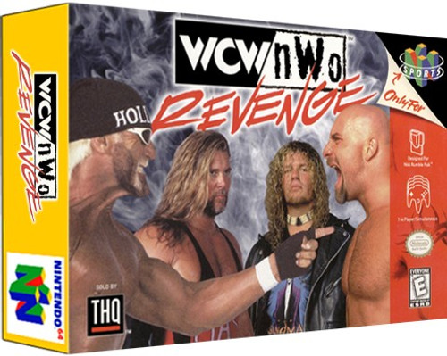 *USED* WCW vs NWO Revenge