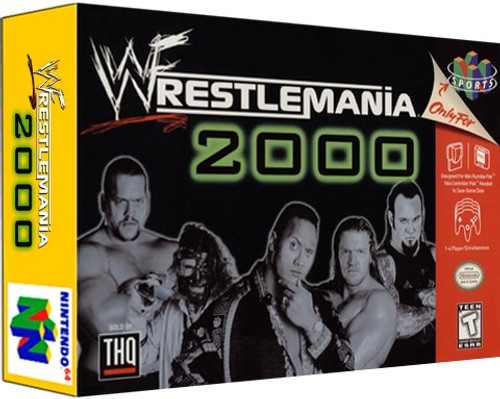 *USED* WWF Wrestlemania 2000