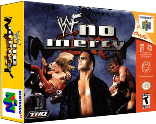 *USED* WWF No Mercy