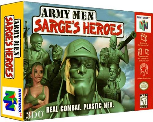 *USED* Army Men Sarge's Heroes