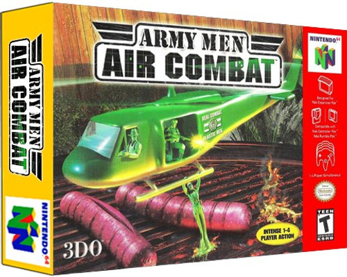 *USED* Army Men Air Combat