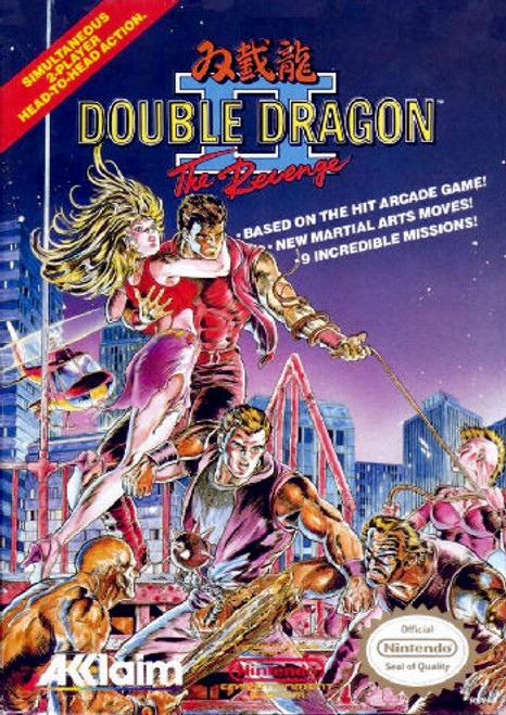 *USED* Double Dragon II: The Revenge