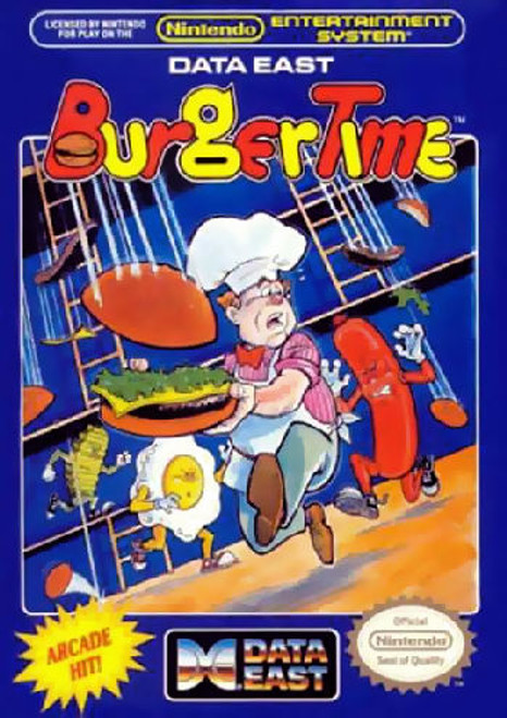 *USED* Burgertime