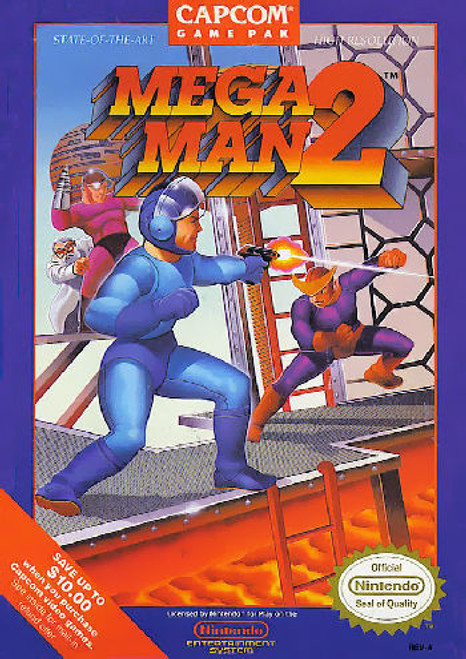 *USED* Mega Man 2