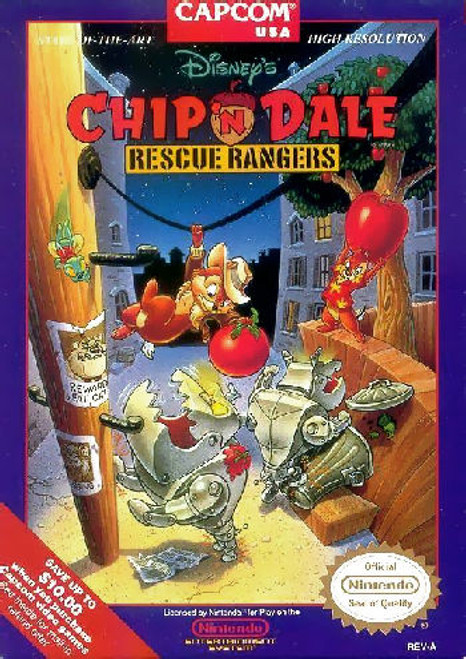 *USED* Chip 'n Dale: Rescue Rangers