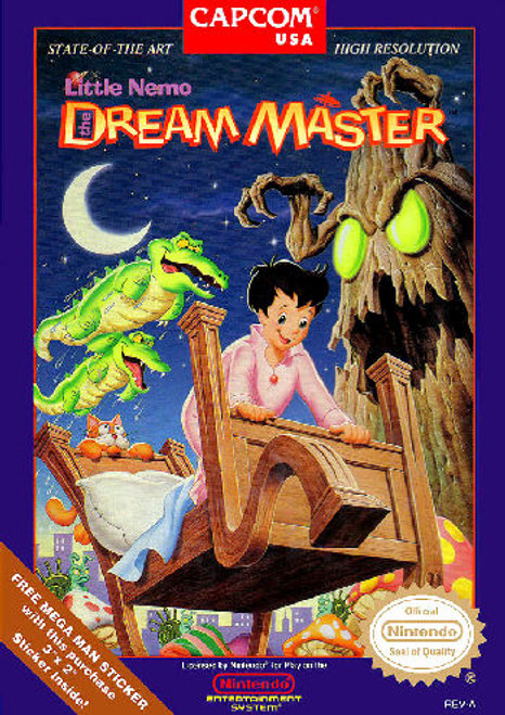 *USED* Little Nemo: The Dream Master