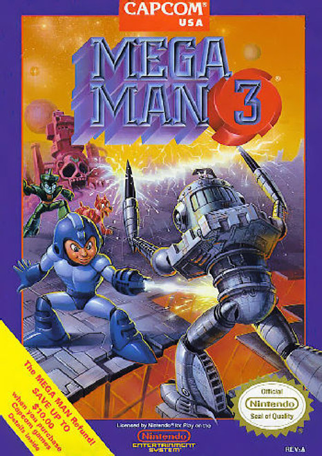 *USED* Mega Man 3