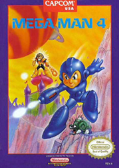 *USED* Mega Man 4