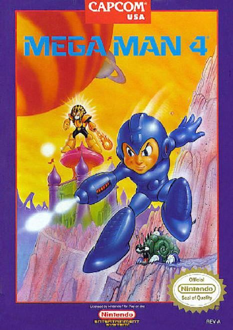 *USED* Mega Man 4