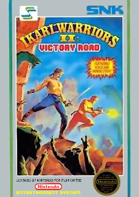 *USED* Ikari Warriors II: Victory Road