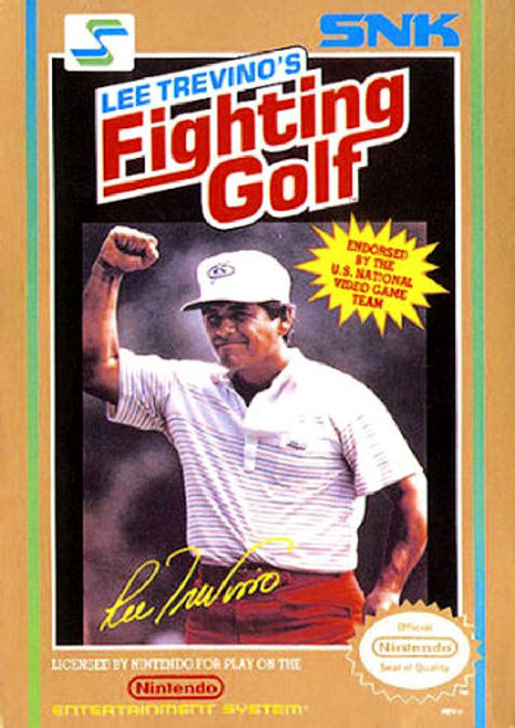 *USED* Lee Trevino's Fighting Golf