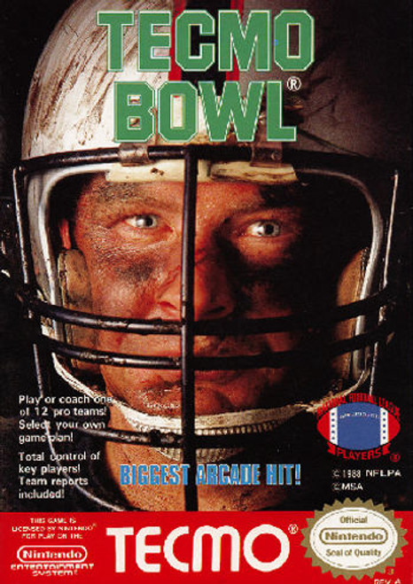 *USED* Tecmo Bowl