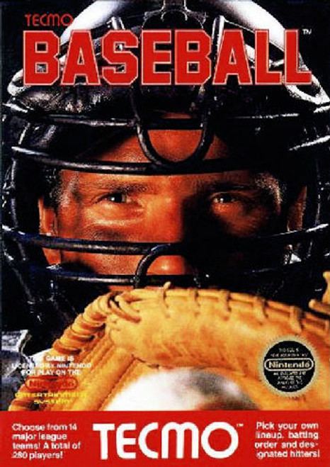 *USED* Tecmo Baseball