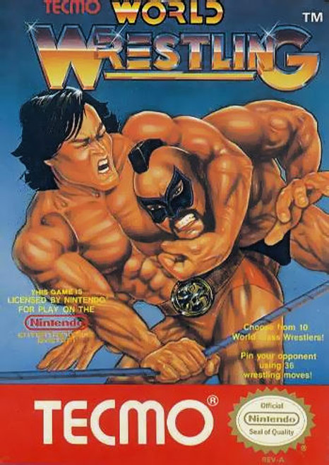 *USED* Tecmo World Wrestling