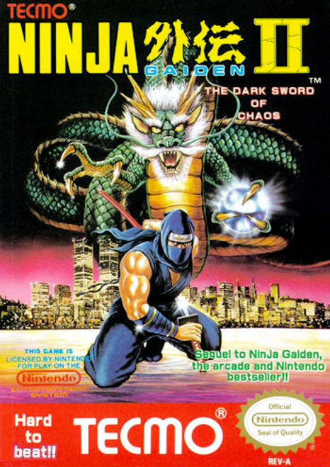 *USED* Ninja Gaiden II: The Dark Sword of Chaos