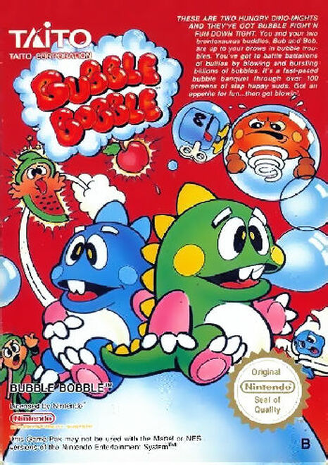*USED* Bubble Bobble