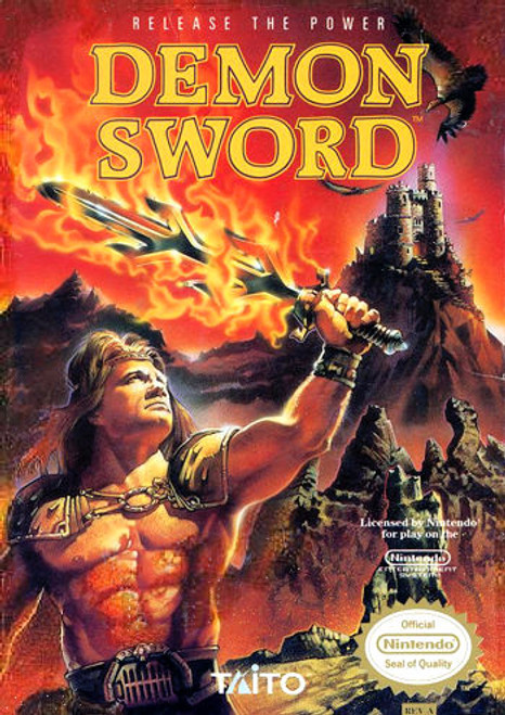 *USED* Demon Sword