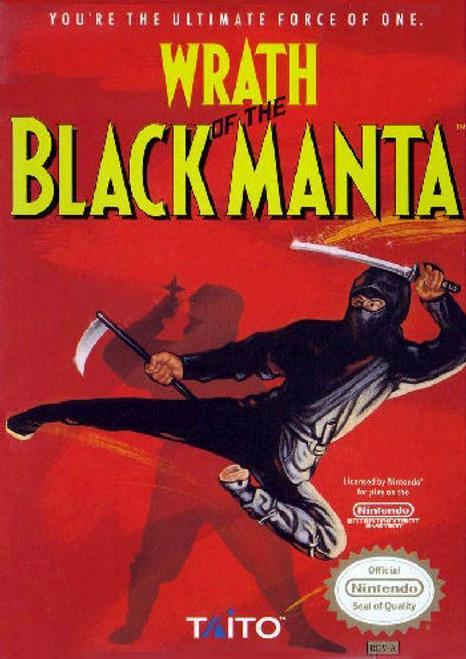*USED* Wrath of the Black Manta