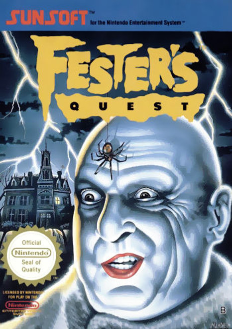 *USED* Fester's Quest