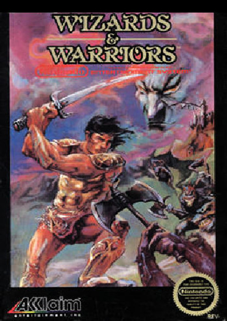 *USED* Wizards & Warriors