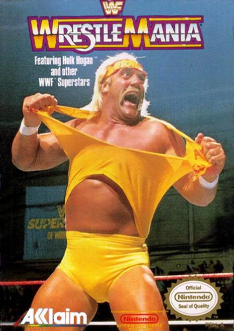 *USED* WWF WrestleMania