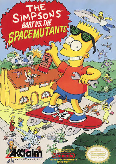*USED* The Simpsons: Bart vs. the Space Mutants