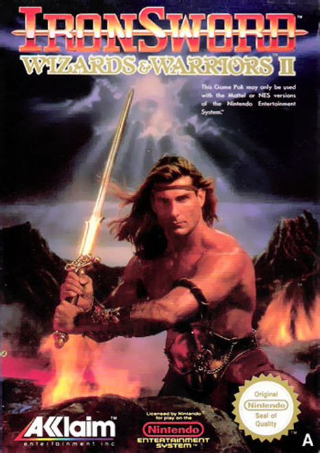 *USED* Ironsword: Wizards & Warriors II