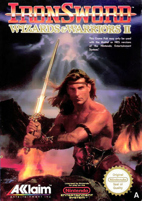 *USED* Ironsword: Wizards & Warriors II