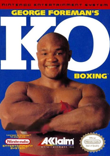 *USED* George Foreman's KO Boxing