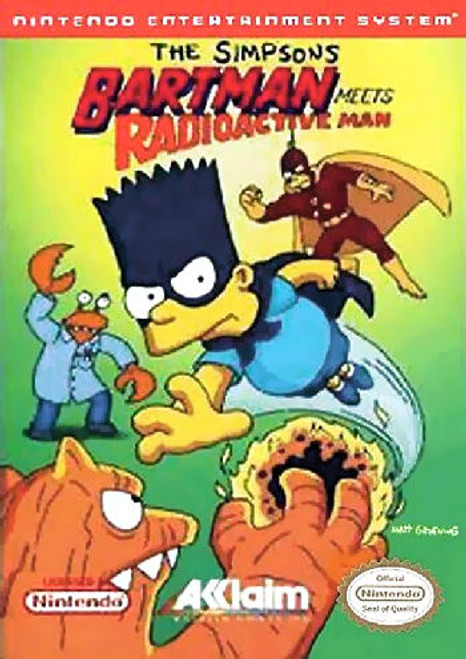 *USED* The Simpsons: Bartman Meets Radioactive Man