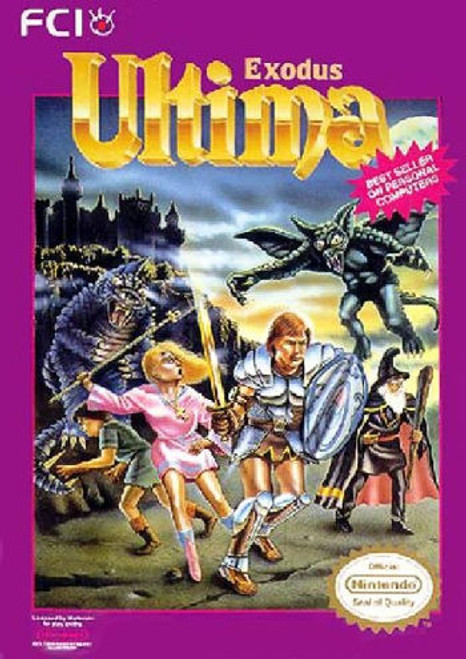 *USED* Ultima: Exodus