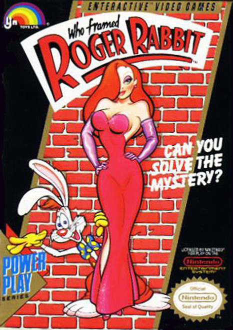 *USED* Who Framed Roger Rabbit