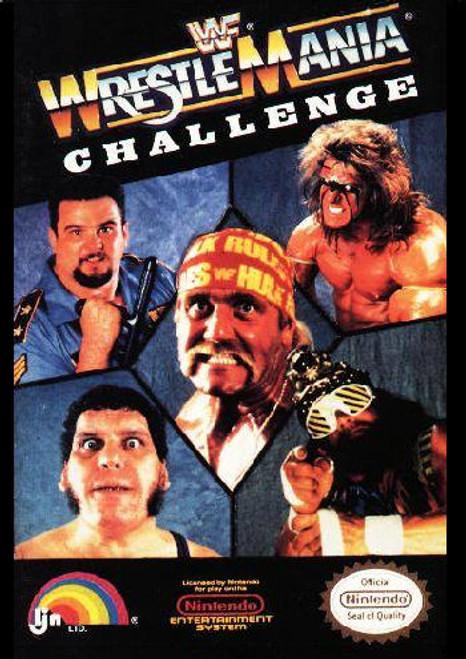 *USED* WWF WrestleMania Challenge