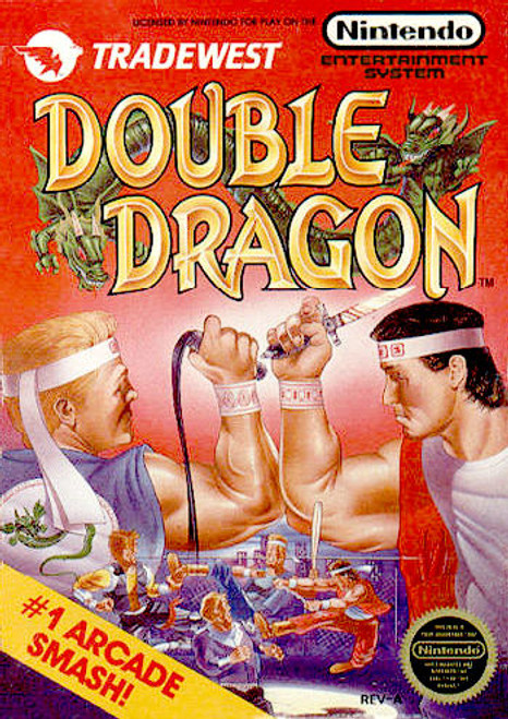 *USED* Double Dragon