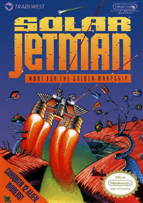 *USED* Solar Jetman: Hunt for the Golden Warpship