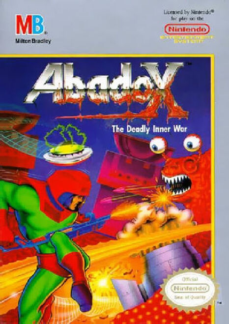 *USED* Abadox: The Deadly Inner War