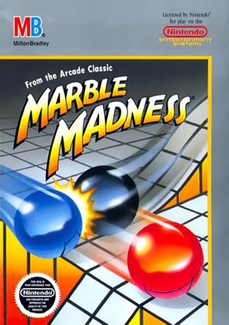 *USED* Marble Madness