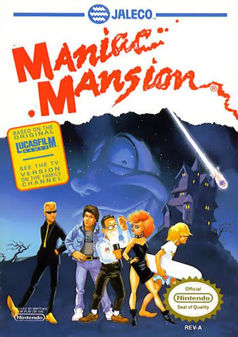 *USED* Maniac Mansion