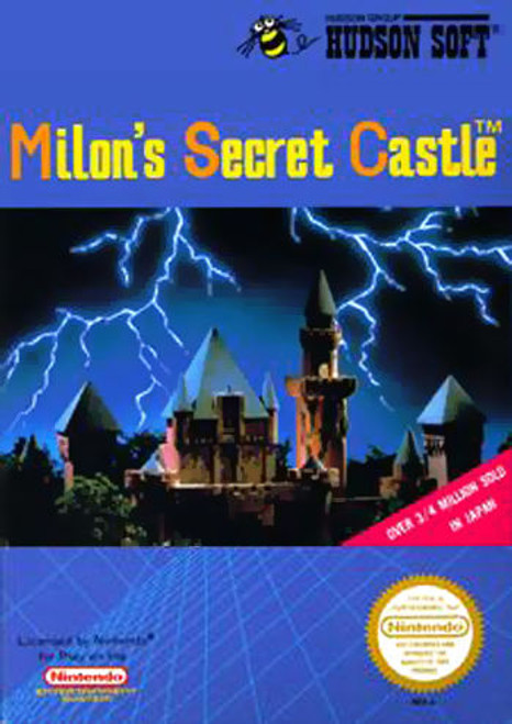 *USED* Milon's Secret Castle