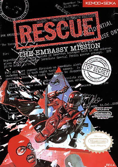 *USED* Rescue: The Embassy Mission