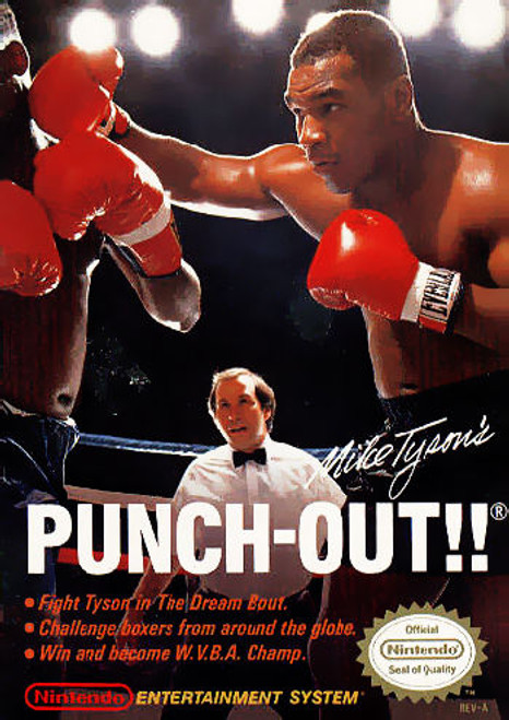 *USED* Mike Tyson's Punch-Out!!