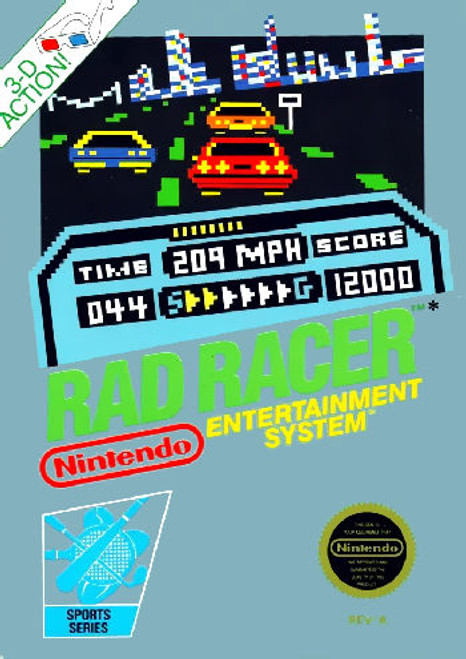 *USED* Rad Racer