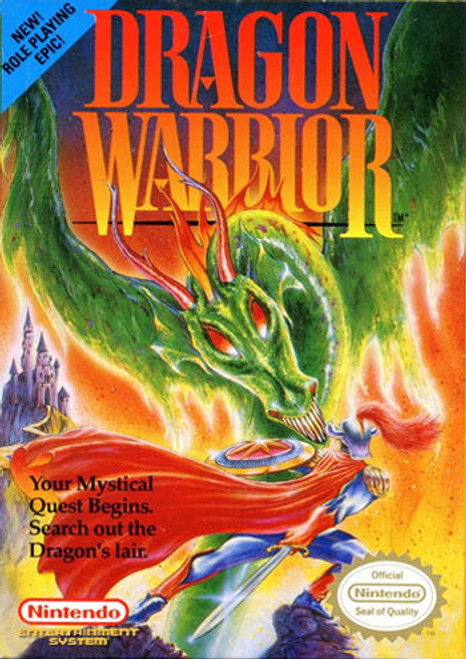 *USED* Dragon Warrior