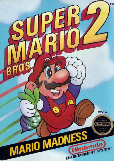 *USED* Super Mario Bros. 2