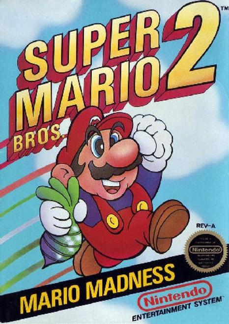 *USED* Super Mario Bros. 2