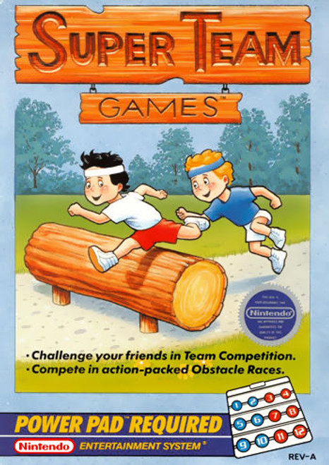 *USED* Super Team Games