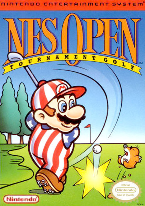 *USED* NES Open Tournament Golf