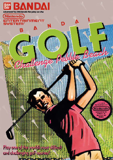 *USED* Bandai Golf: Challenge Pebble Beach