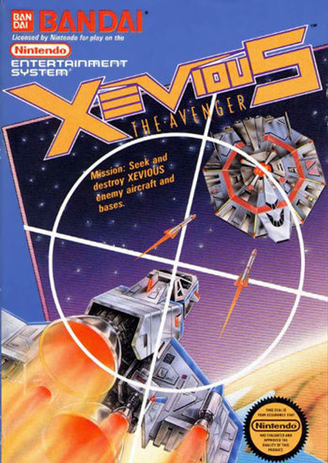 *USED* Xevious: The Avenger