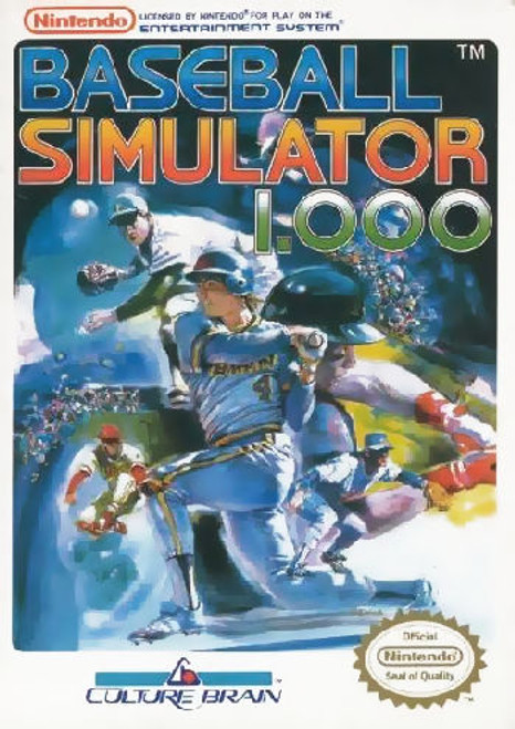 *USED* Baseball Simulator 1.000